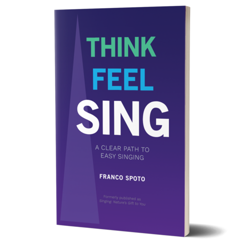 Think Feel Sing Book by Franco Spoto